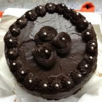 6 Minutes Eggless Vanilla Sponge Cake