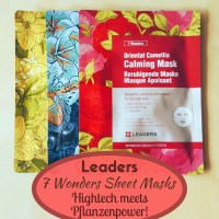 Leaders 7 Wonders Sheet Masks - Hightech meets Pflanzenpower!