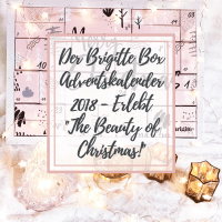 "[GER] Der Brigitte Box Adventskalender 2018 - erlebt ""The Beauty of Christmas!"""