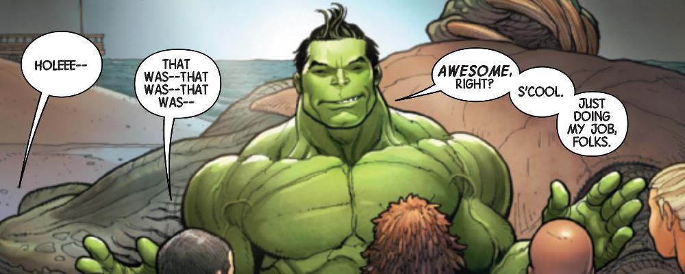 Il fichissimo Hulk di Frank Cho e Greg Pak featured