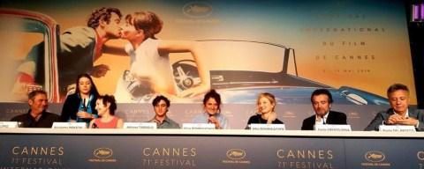 Lazzaro Felice, la conferenza stampa a Cannes