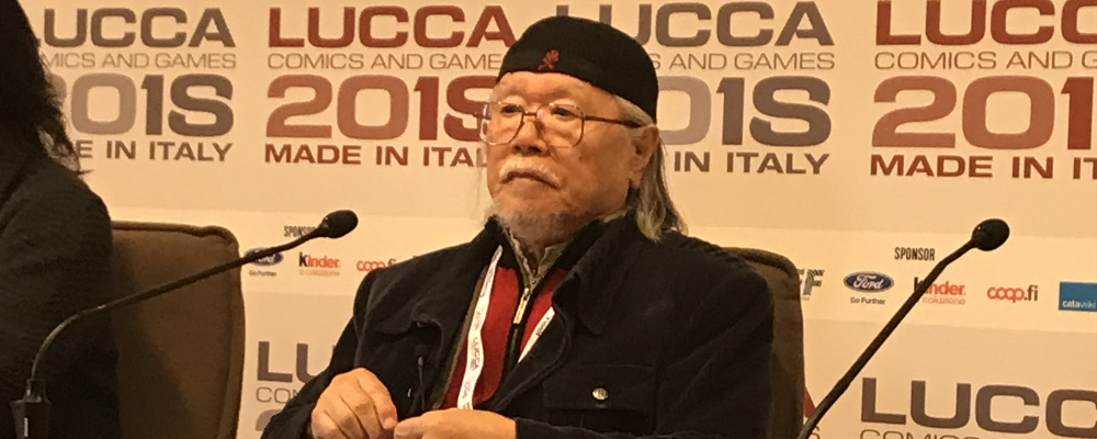 Leiji Matsumoto a Lucca Comics & Games 2018