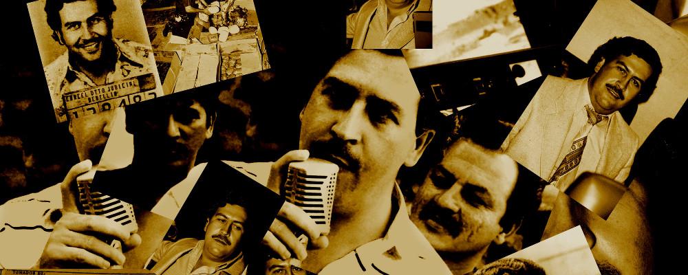 Pablo Escobar il re dei Narcos, copertina audiolibro