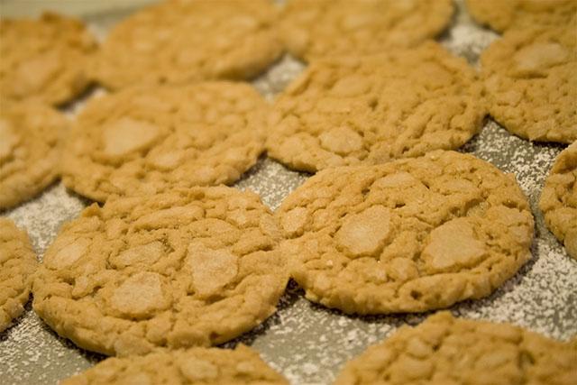 Flat, flat, flat cookies
