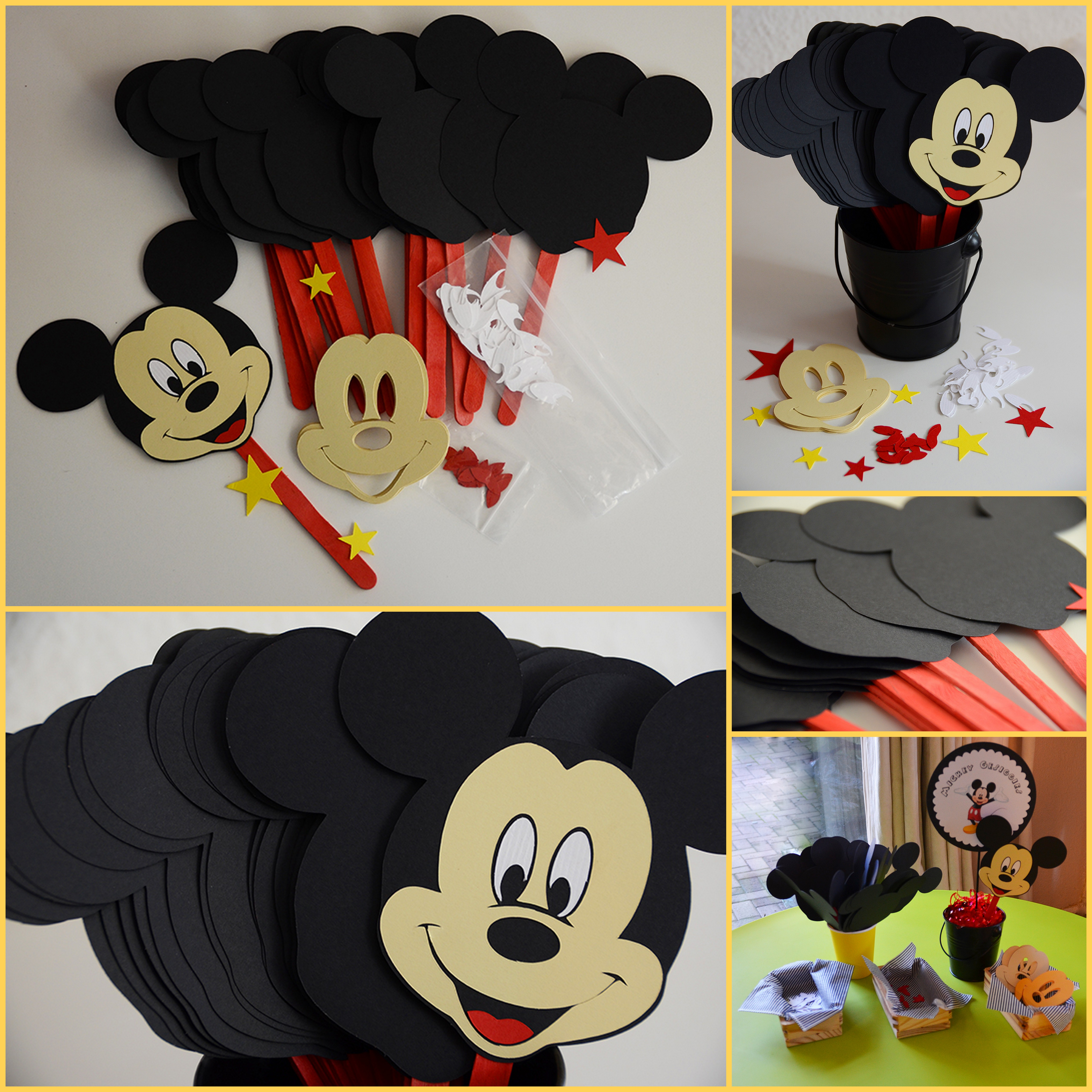 Mickey Mouse Party Sugarqube
