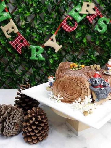 Christmas Chocolate Yule Log (Bûche de Noël)