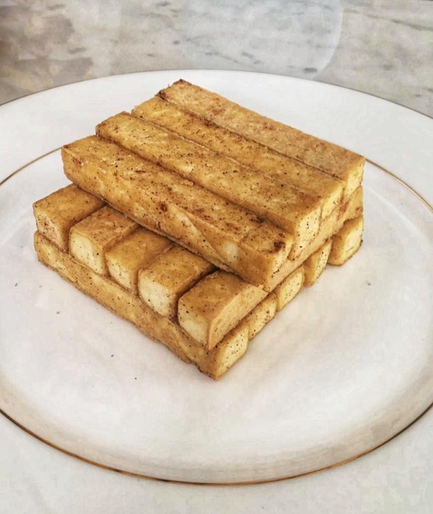 Pan Fry Tofu Sticks