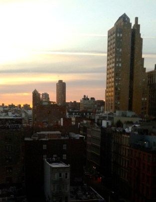 Good morning NYC!