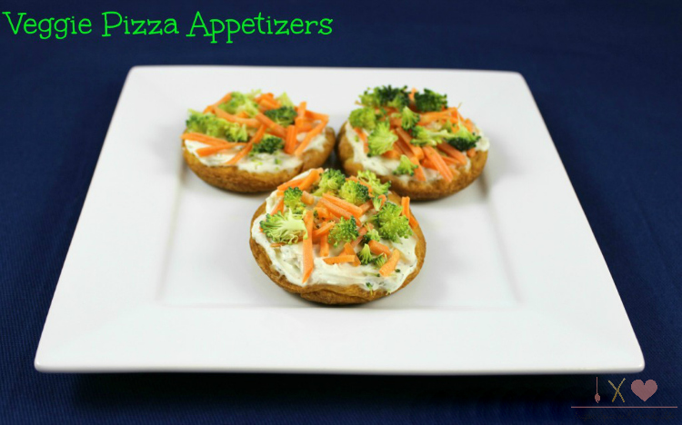Veggie Pizza Appetizers