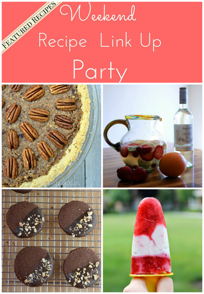 Weekend Recipe Link Up Party Featured Recipes 13
