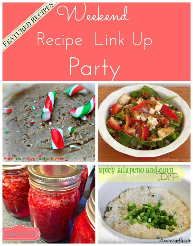 Weekend Recipe Link Up Party Featured Recipes 14