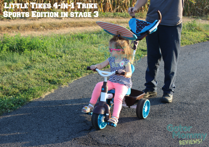 Little Tikes 4-in-1 Sports Edition Trike copyright Gator Mommy Reviews
