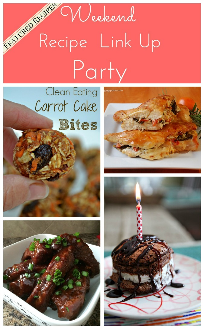 Weekend Recipe Link Up Party Featured Recipes 26