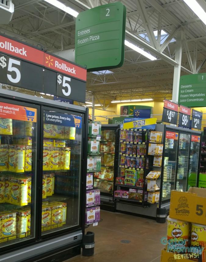 Walmart Frozen aisle #CollectiveBias #EasyAsPotPie