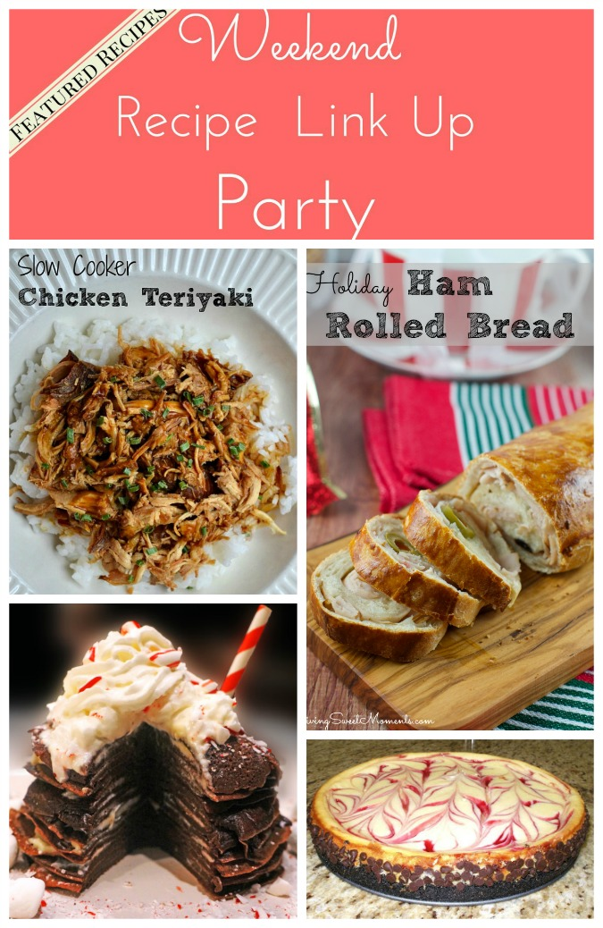 Weekend Recipe Link Up Party featured recipes 35
