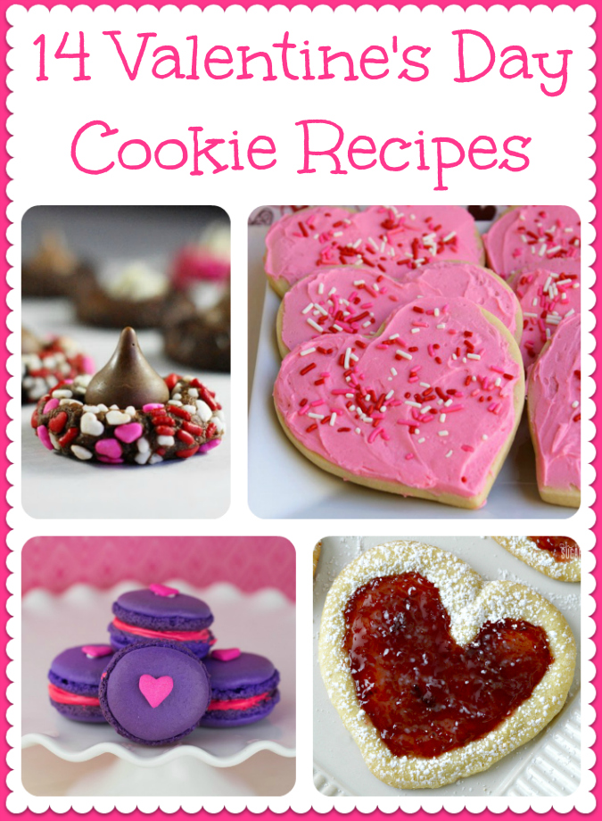14 Valentine's Day Cookie Recipes