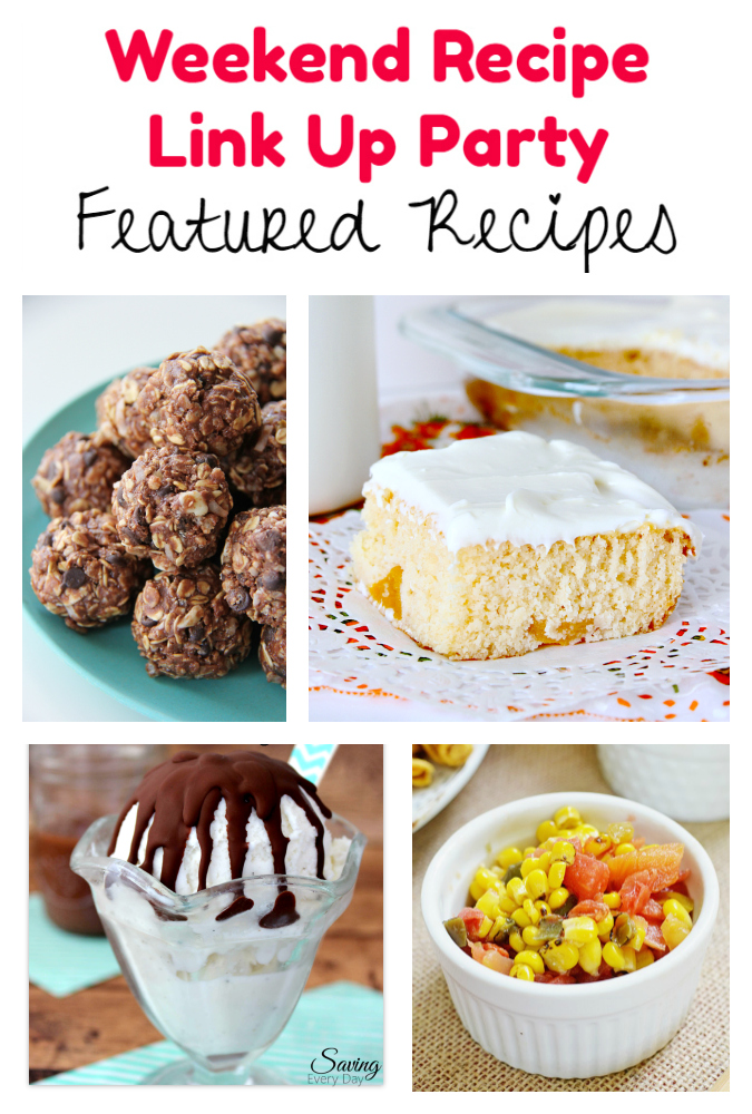 Weekend Recipe Link Up Party featured recipes 57
