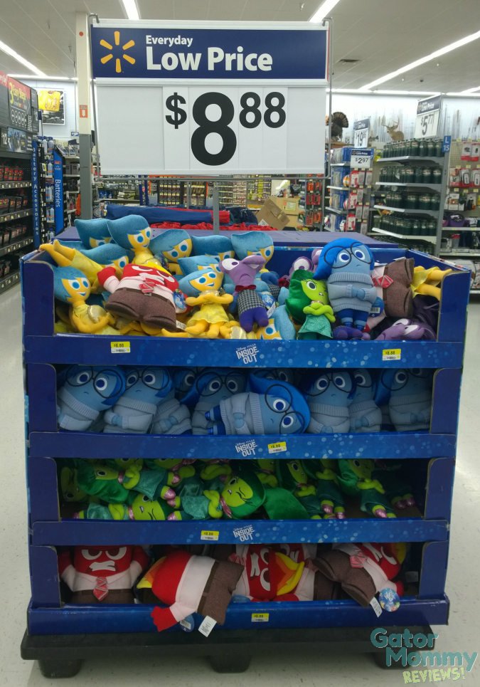 Inside Out display at Walmart