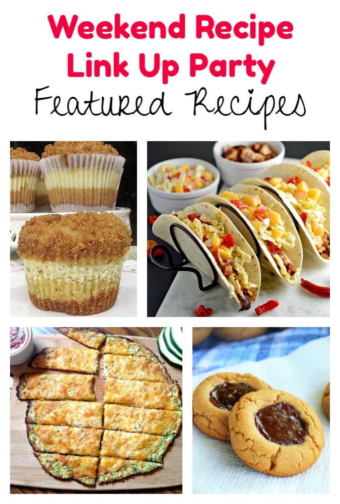 Weekend Recipe Link Up Party featured recipes 72