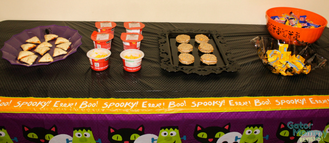 Halloween Snack Table