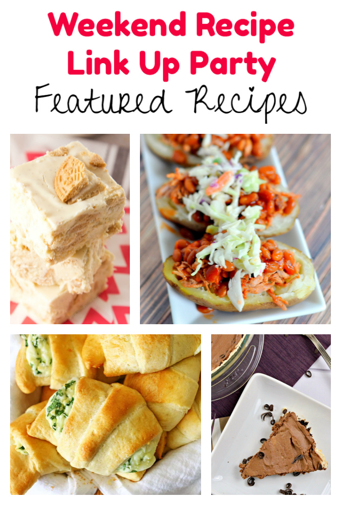 Weekend Recipe Link Up Party featured recipes 83