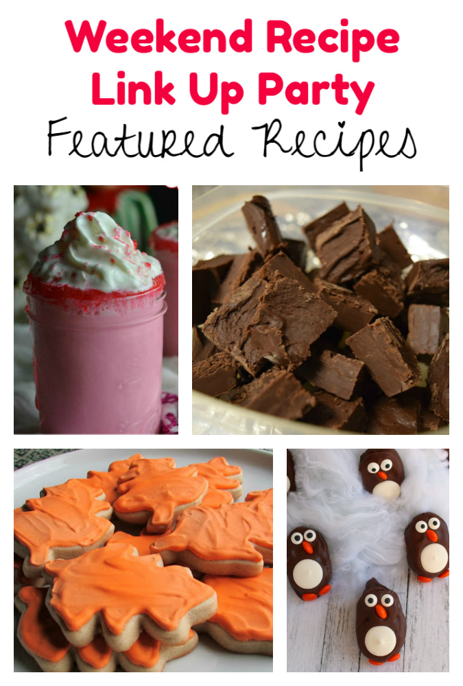 Weekend Recipe Link Up Party featured recipes 89