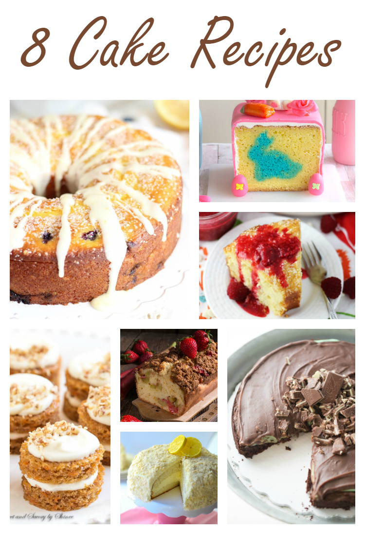 8 Cake Recipes