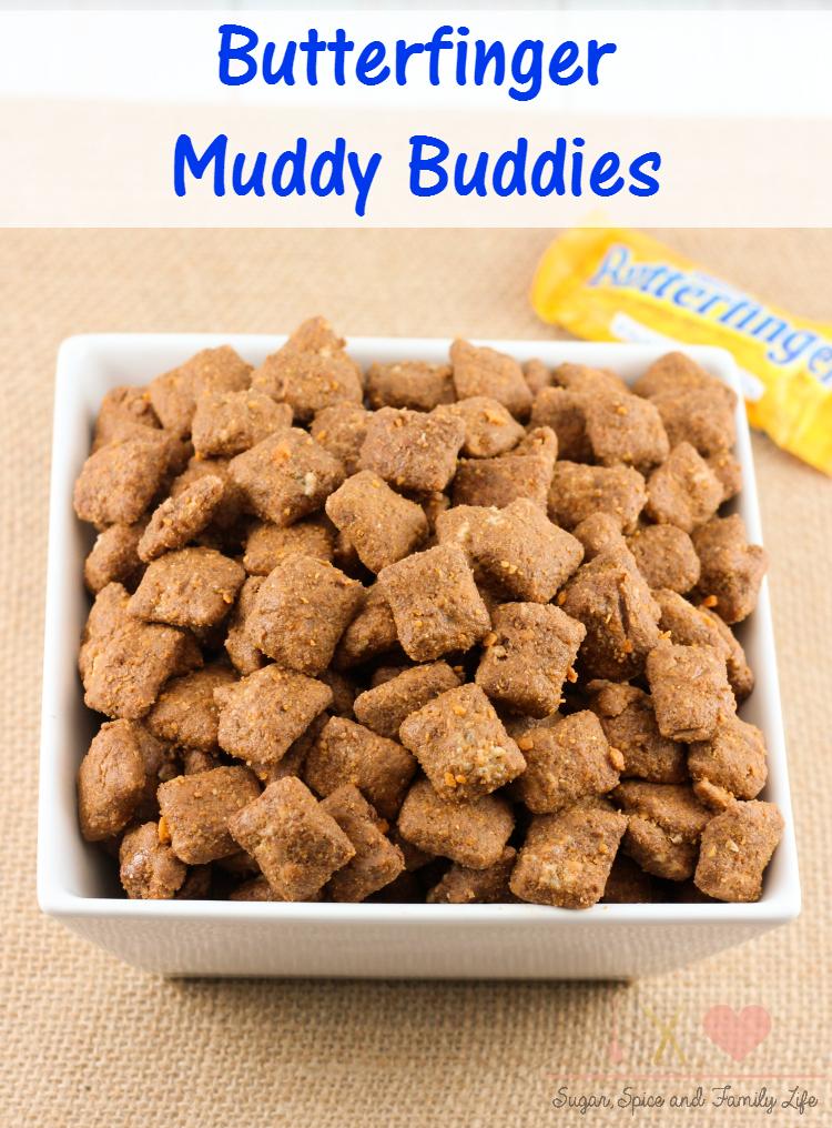 Butterfinger Muddy Buddies