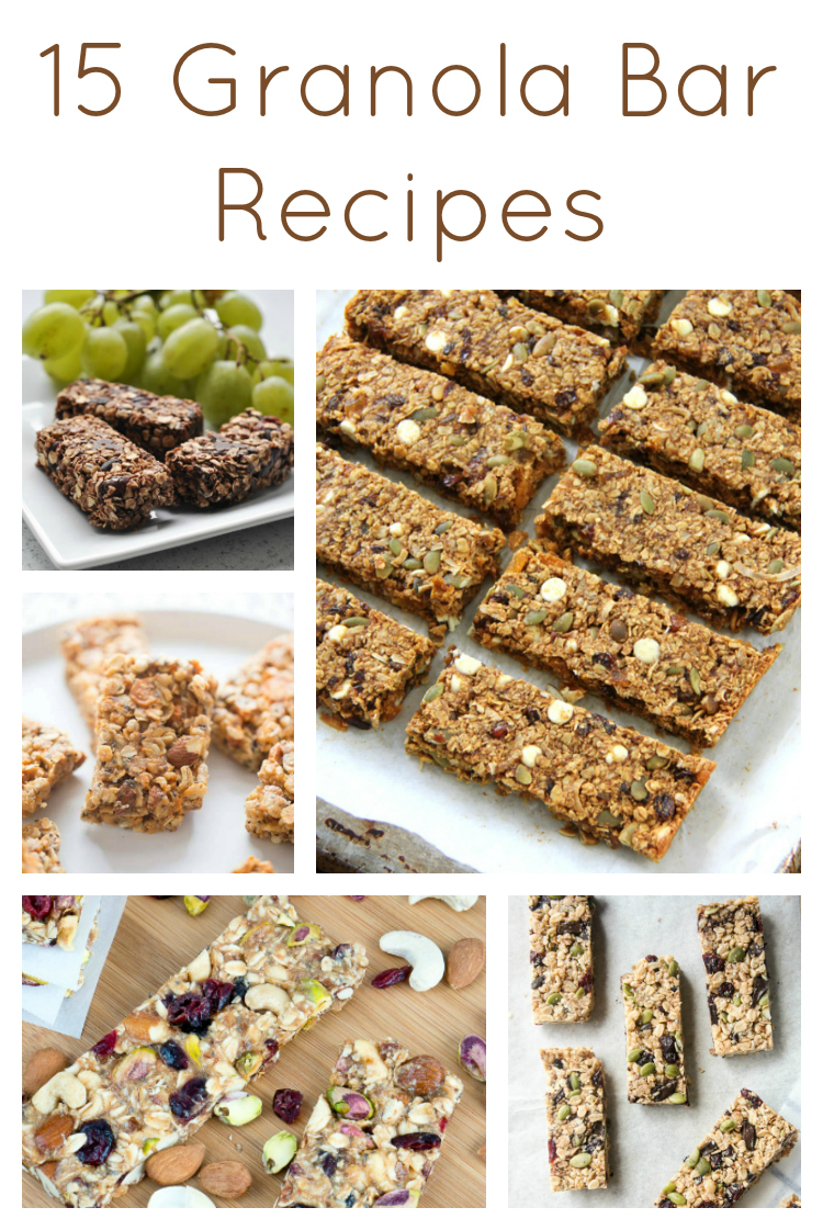 15 Granola Bar Recipes
