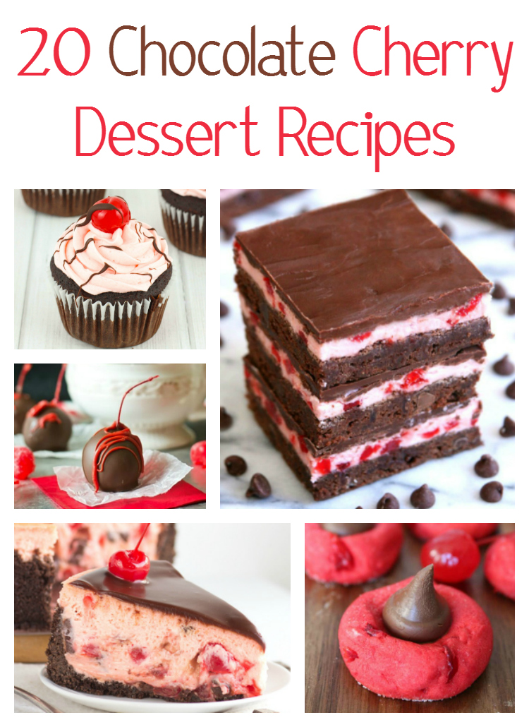 20 Chocolate Cherry Dessert Recipes