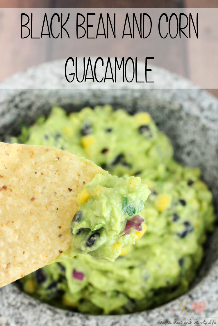 Black Bean and Corn Guacamole