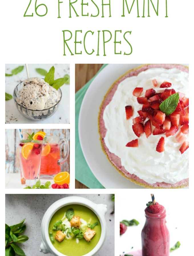 26 Fresh Mint Recipes