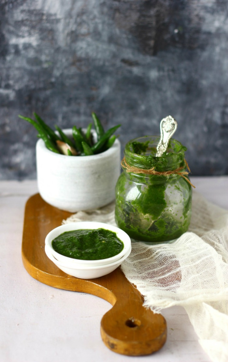Mint and Coriander Chutney
