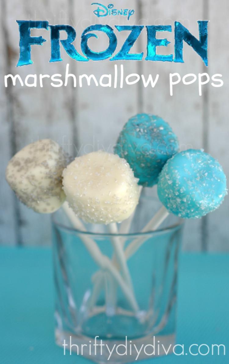 Disney Frozen Marshmallow Pops