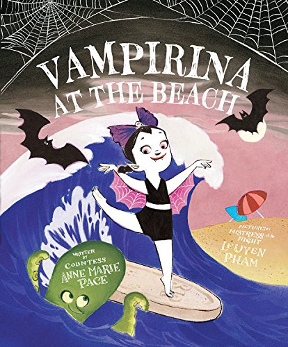 Vampirina at the beach picture book