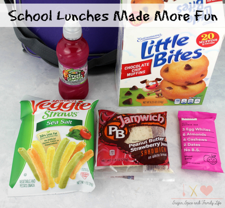 School Lunches Made More Fun