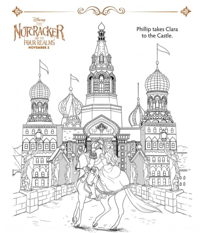 Nutcracker Coloring Sheets And Activity Pages Sugar Spice And Glitter