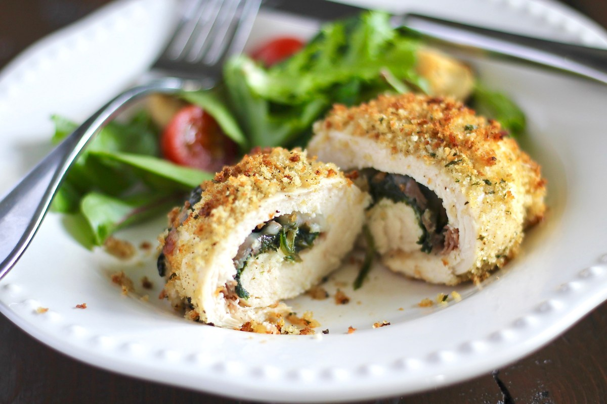 Rolled Chicken Saltimboca