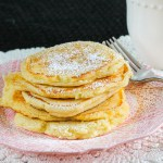 Buttermilk Pancakes. These pancakes are as easy as stirring together a box mix, but hands down better than a box any day. Melt in your mouth delicious.