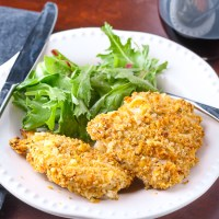 Oven Fried Chicken. This oven fried chicken just is as good, if not better, than most traditional fried chicken recipes, and certainly healthier.