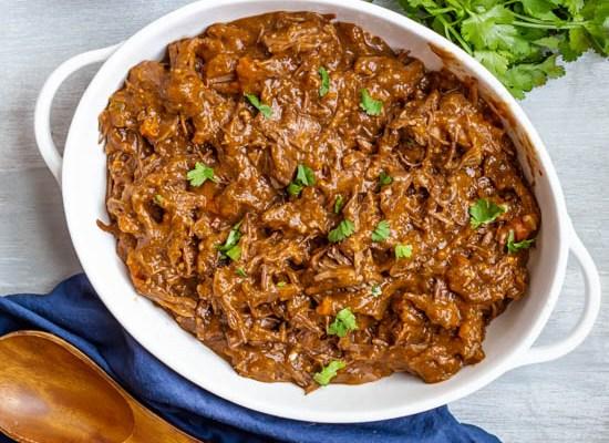 Barbacoa Beef (Instant Pot or Slow Cooker)