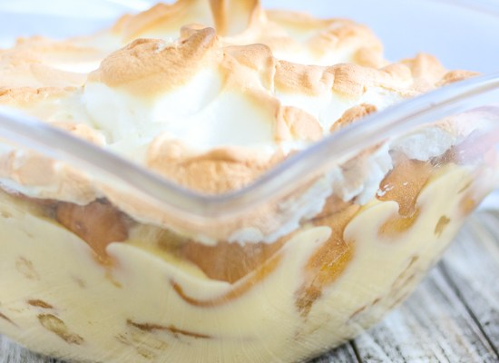 Caramelized Banana Pudding
