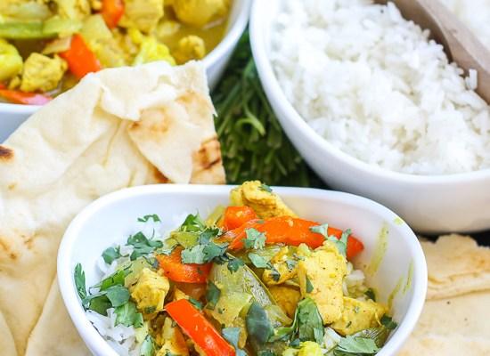 Lemongrass Curry Chicken