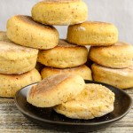 Pumpkin English Muffins. Soft English muffins with tastes of pumpkin, pumpkin pie spice, and a hint of sweetness. Addictively delicious!