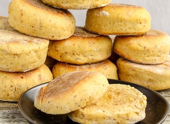 Pumpkin English Muffins