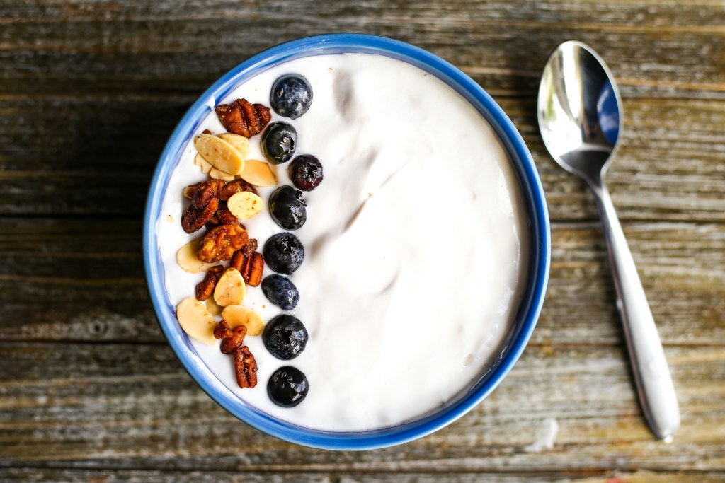 Dairy Free Instant Pot Yogurt. Thick, creamy, delicious coconut cream yogurt made in your Instant Pot. It's easily made with only four ingredients!
