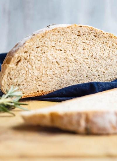 Instant Pot Garlic Rosemary Bread
