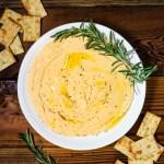 Instant Pot Rosemary Garlic Hummus