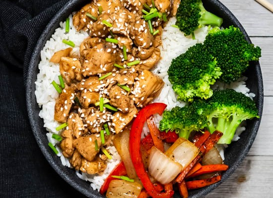 Teriyaki Chicken with Vegetables