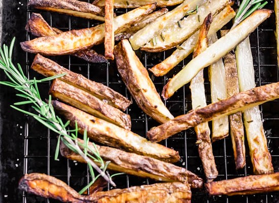 Oven Baked Rosemary Fries